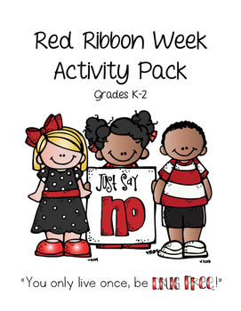 2016 Primary Red Ribbon Week Activity Pack