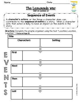 2016 Readygen 3rd Grade Unit 1 Module A Lesson 12