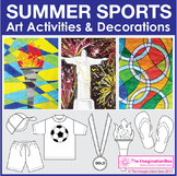 2016 Summer Olympic Games Art Activities and Classroom Decor