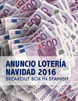 2016 Spanish Christmas lottery activity - Breakout Box Sor