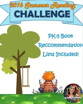 2016 Summer Reading Challenge
