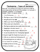 Thanksgiving Grammar Thanksgiving Language Arts Types of S