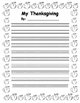 2016 Thanksgiving Activities Writing - Narrative and Non-F
