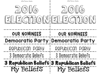 2016 USA Election Flip Book