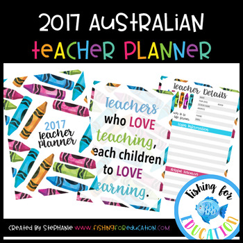 2017 Australian Teacher Planner