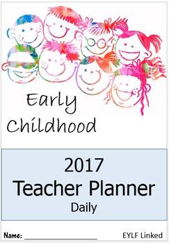 2017 Early Education Teacher Planner
