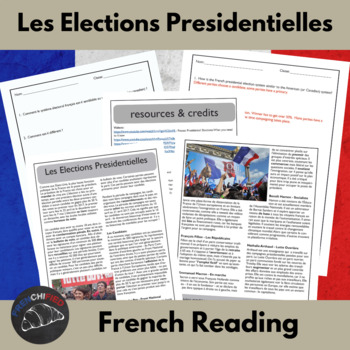 2017 French Presidential Election - reading for int/adv Fr