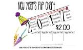 2017 New Year's Resolutions Flip Chart