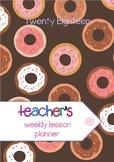 2017 Secondary Teacher Planner - Back to School #ausb2s17