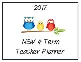 2017 Teacher Planner: NSW (Owl Theme)