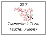 2017 Teacher Planner: Tasmanian (Cherry Blossom Theme)