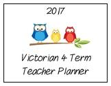 2017 Teacher Planner: Victorian (Owl Theme)