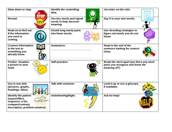 21 Reading Fix-Up Strategies for Students