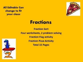Fraction sheets and resources....common core math