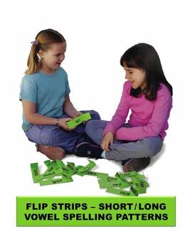 Flip Strips – Short/Long Vowel Spelling Patterns