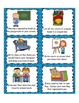 216 Monthly Themed Writing Task Cards and 9 Word lists (en