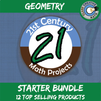 21st Century Geometry Project Starter Bundle -- Common Cor