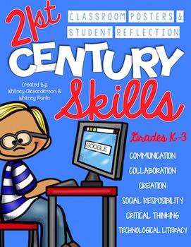 21st Century Skills: Classroom Posters & Student Reflectio