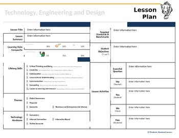 21st Century Skills Lesson Plan Template