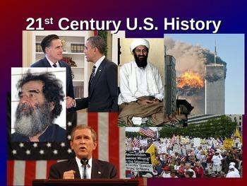 U.S. History - 21st Century - Powerpoint