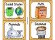 220 Classroom Library Book Bin / Basket Labels {Orange Pol