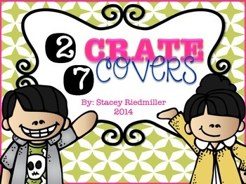 {27} Cute Crate Covers for Classroom Organization!