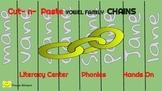 23 Phonics LONG Vowel Families: Paper Chains Literacy Cent