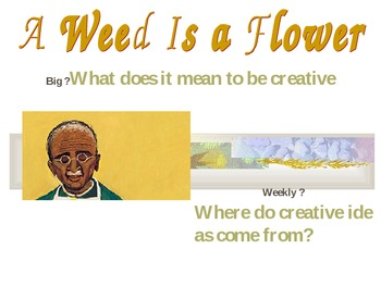 2.3.5, A Weed is a Flower, Reading Street Second Grade Uni