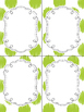 24 Editable Task Card Templates Mistletoe Kisses (Portrait