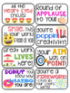 32 Emoji Themed Positive Headers for Displaying Student Wo