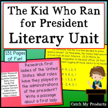 Literary Unit - The Kid Who Ran for President for Promethe