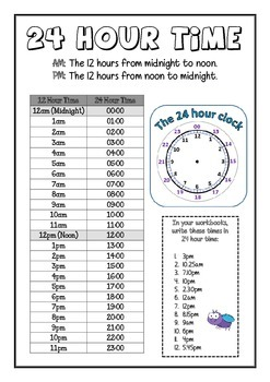 24 Hour Time