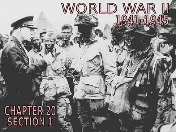 24 - World War II - PowerPoint Notes