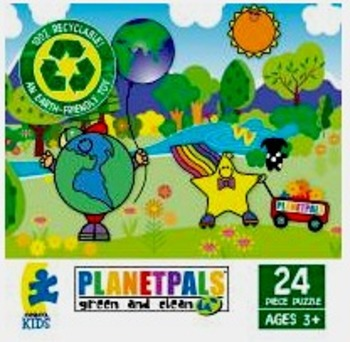 """PLANETPALS """"A Day in the Park"""" PUZZLE 24 piece"""