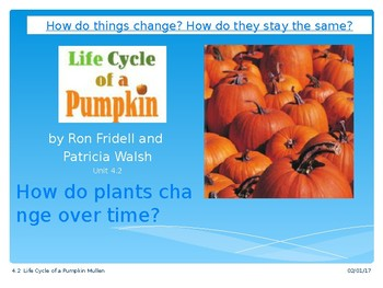 2.4.2 Life Cycle of a Pumpkin Reading Street Grade 2 Unit