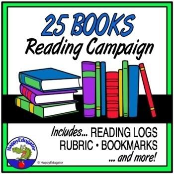 25 Book Reading Campaign