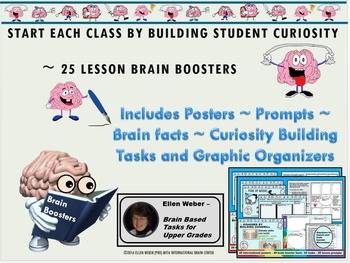 25 Brain Boosters - Posters - Tasks  and Writing Prompts f