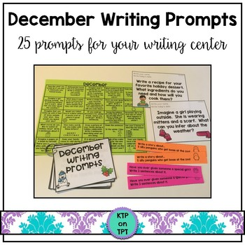 25 December Writing Prompts