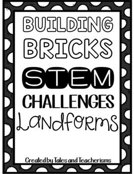 25 Lego STEM/STEAM Landforms Challenges (Plus other landfo