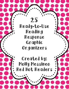 25 Reading Response Graphic Organizers