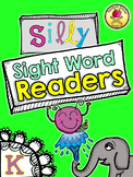 25 Silly Sight Word Readers for Kindergarten {Printable Sl