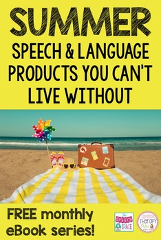 25 Speech & Language Products You Can't Live Without: Summ