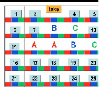 25 Squares(Past Tense vs Past Participle-Easy)