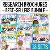 252 Research Brochure Biography Templates BUNDLE, Mini Pro