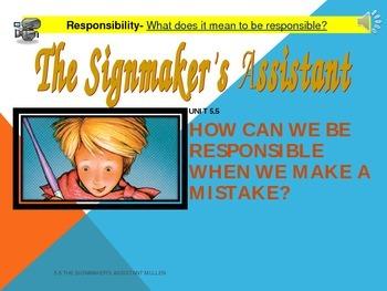 2.5.5 2nd Grade Reading Street Signmaker's Assistant Unit