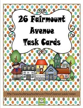 26 Fairmount Avenue Task Cards (CC Aligned)