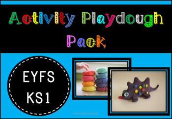 Activity Playdough Pack (includes specific tasks and cover