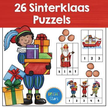 26 Sinterklaas Puzzels