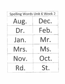 2.6.2 RS Weekly Work Packet, Second Grade, Reading Street
