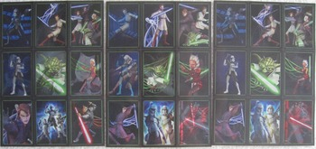 VALENTINES CARDS 27 NEW STAR WARS HOLOGRAPHIC CARDS (Incl